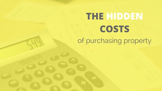 The Hidden Costs of Purchasing Property